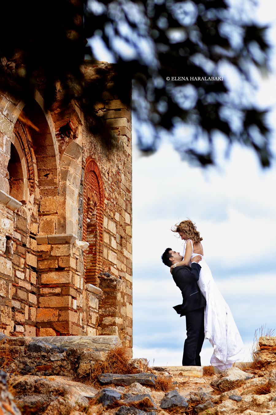 φωτογραφιες γαμου στη Μονεμβασια